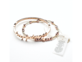 SunMoonRain Rose Gold Bracelet Set