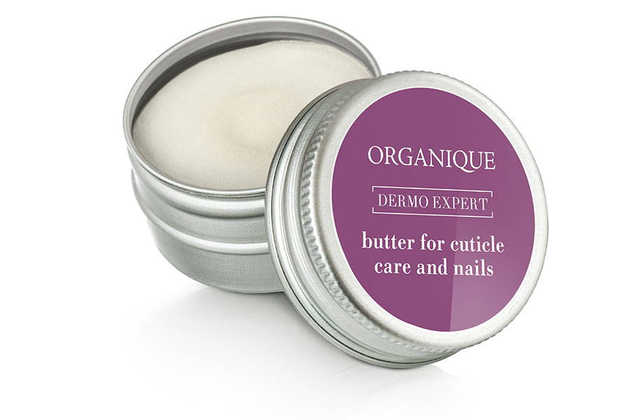 Organique natural Regenerating and Strengthening Cuticle and Nails Butter 15ml metal box