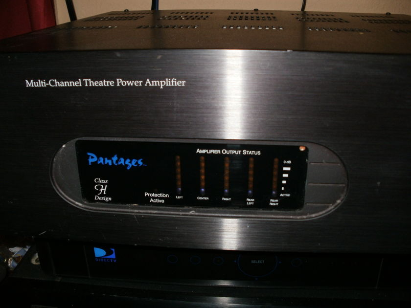 Pantages by Audio control 5channel power amp Class H topology