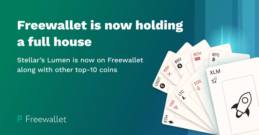 Stellar Lumens Wallet on Freewallet