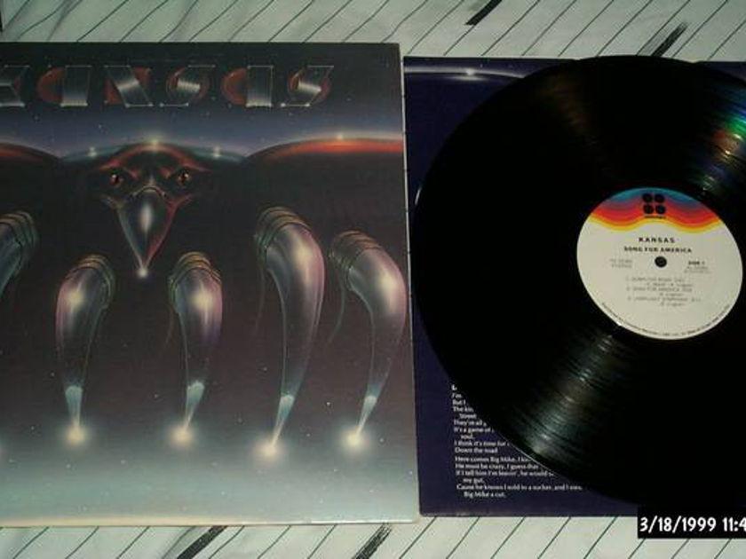 Kansas - Song For America lp nm