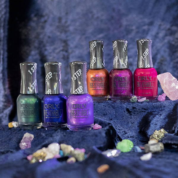 ORLY BEJEWELED BREATHABLE NAIL POLISH COLLECTION
