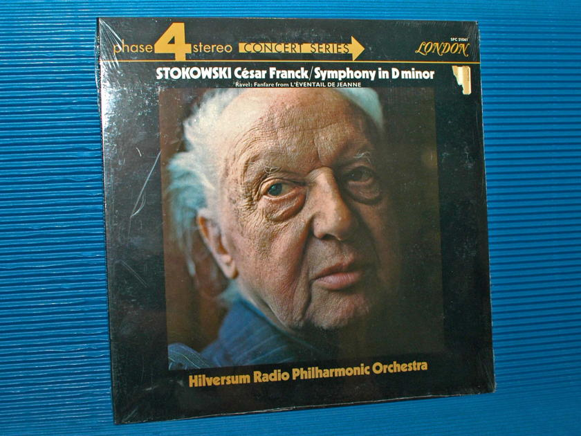 "FRANCK / Stokowski  - ""D minor Symphony"" - London Phase 4 1971 SEALED"