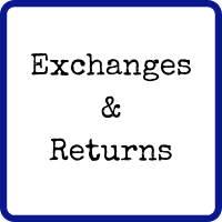 Exchanges & Returns