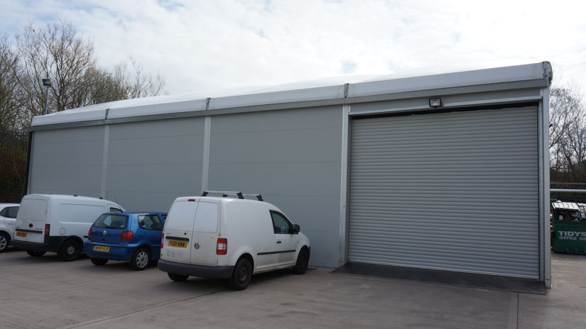 Used Large Temporary Commercial | Industrial, Gutter Linked Storage Buildings in Cheshire, Shropshire, Derbyshire, Leicestershire, Nottinghamshire, Lincolnshire, Herefordshire, Bedfordshire, Hertfordshire, Buckinghamshire, Oxfordshire, Gloucestershire, Worcestershire, London, Lancashire, Warwickshire, Birmingham, Manchester, Lancashire, Yorkshire, Essex