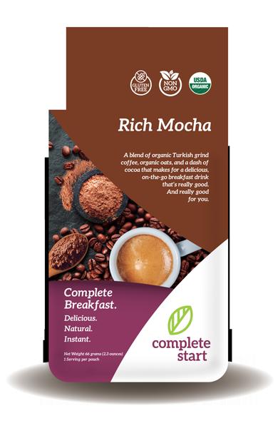 rich mocha instant breakfast shake