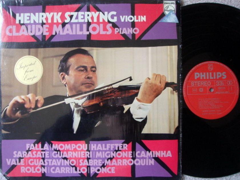 Philips / HENRYK SZERYNG, - Violin Recital, NM!