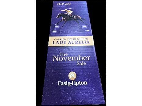 Lady Aurelia Fasig-Tipton Sales Banner