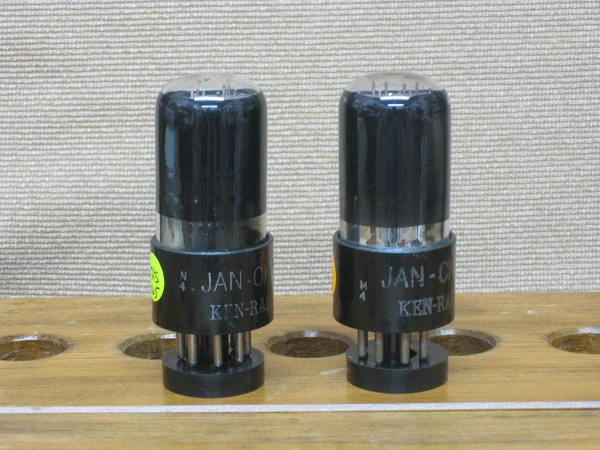 Ken Rad JAN-CKR-6SN7GT VT-231