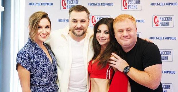 Анна Плетнёва стала гостьей утреннего шоу «Русские Перцы» - Новости радио OnAir.ru