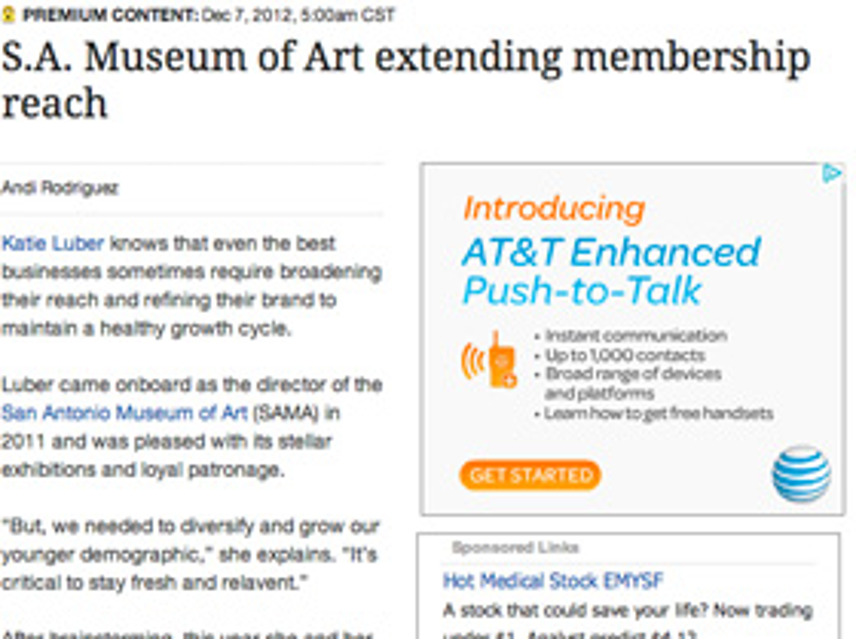 biz journal, Membership