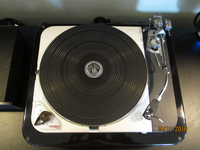 Thorens TD-124 State of the Art - JUST REDUCED AGAIN !!!