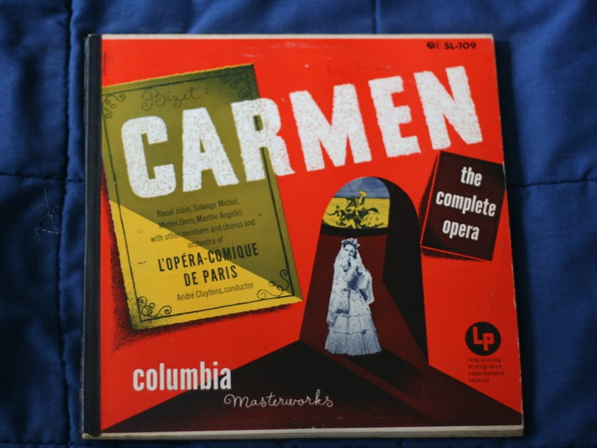Bizet - Carmen: L'Opera-Comique De Paris SL-109