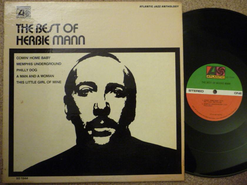 THE BEST OF HERBIE MANN - ATLANTIC RECORD EXCEL LP