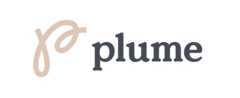 Plume logo and link
