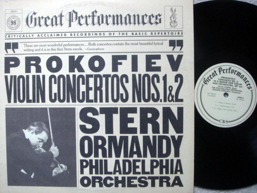 Columbia / STERN-ORMANDY, - Prokofiev Violin Concertos No.1 & 2, MINT!