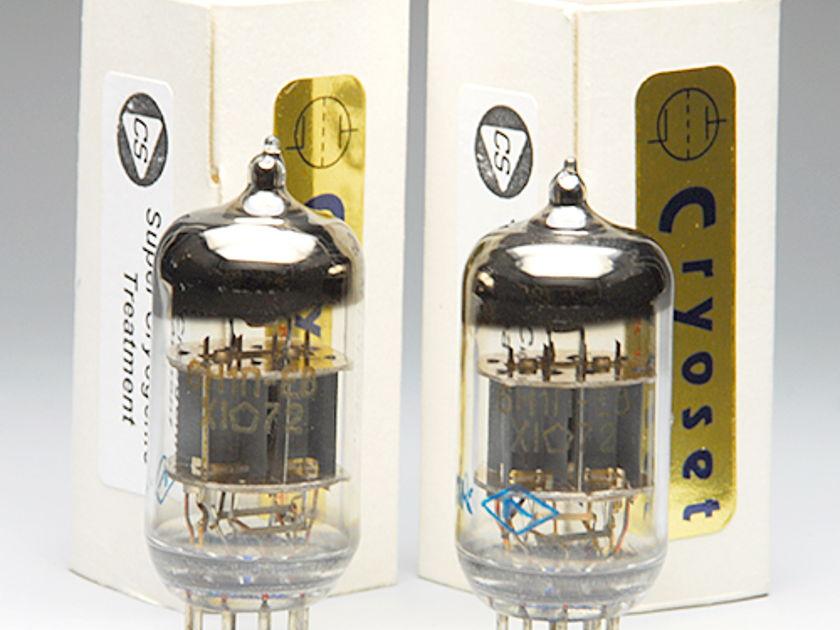 Cryoset 6H1N-EB 6N1P matched pair cryo treated tubes
