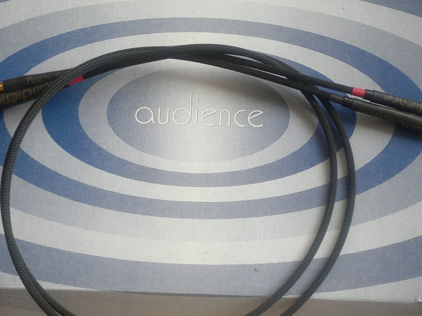 """AUDIENCE  AU 24 """"E""""  INTERCONNECT RCA  TO  RCA  1 METER"""