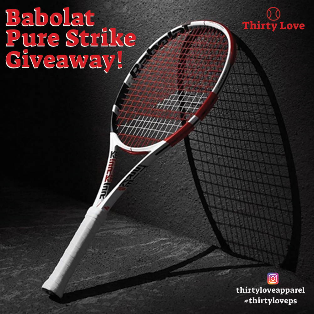 online contests, sweepstakes and giveaways - Babolat Pure Strike Giveaway!