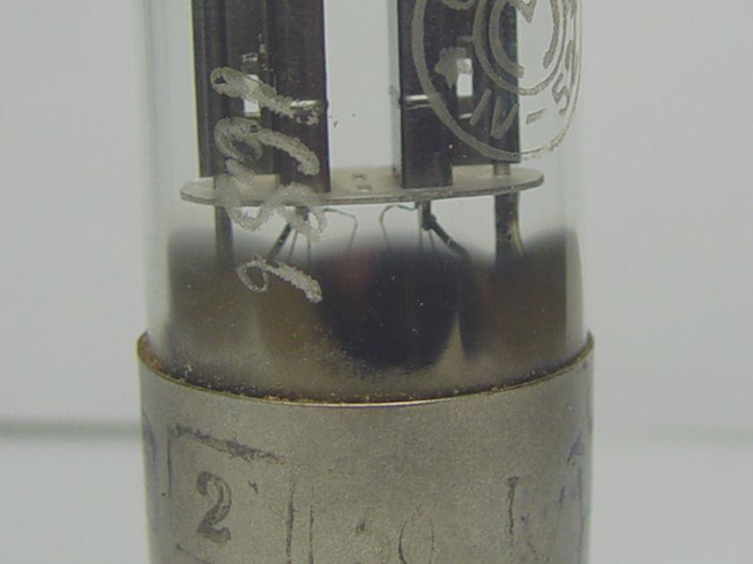 Nos Russian 6sn7/6h8c metal base matched pair.rare.