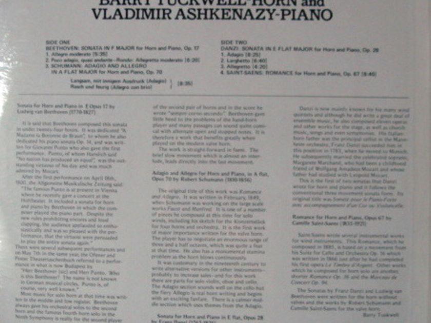 ★Sealed★ London-Decca / - ASHKENAZY-TUCKWELL, Music for Horn & Piano!