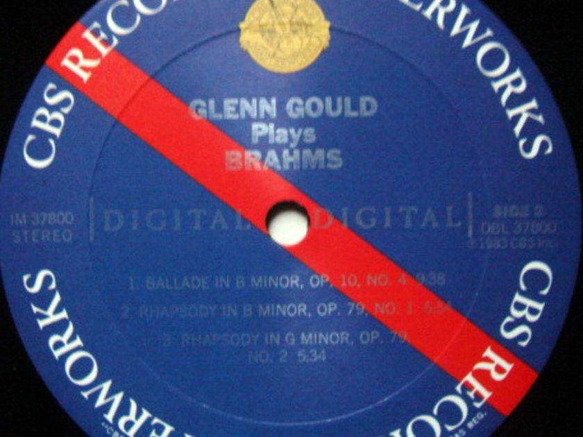 CBS Digital / GLENN GOULD, - Brahms Ballades & Rhapsodies, MINT!