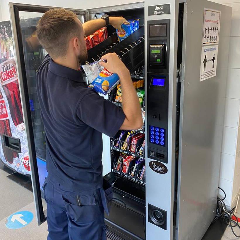 vending machines liverpool & north west