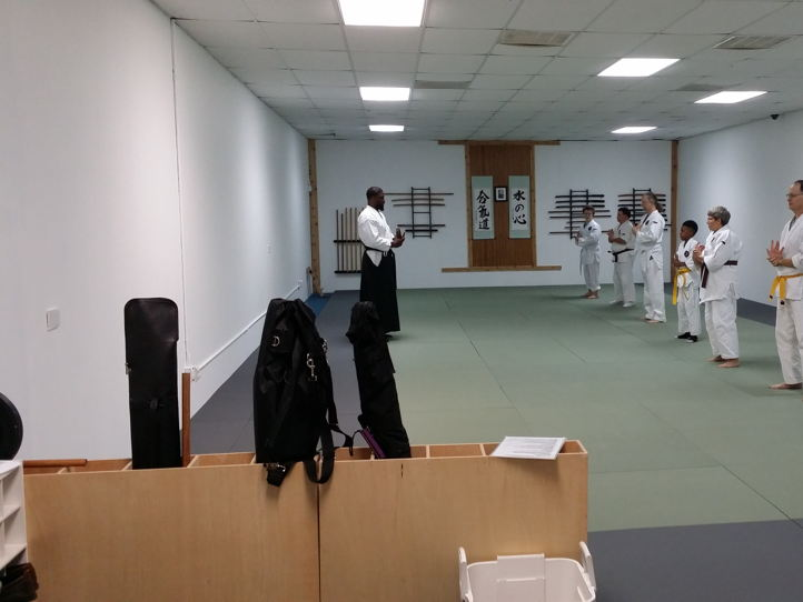 Martial arts dojo space