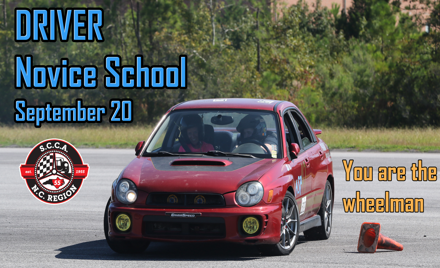 Driver Novice School at Cherry Point NCR