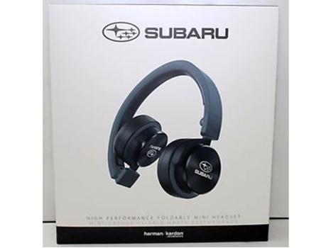 Harman Kardon Foldable Mini Headphones with Subaru logo