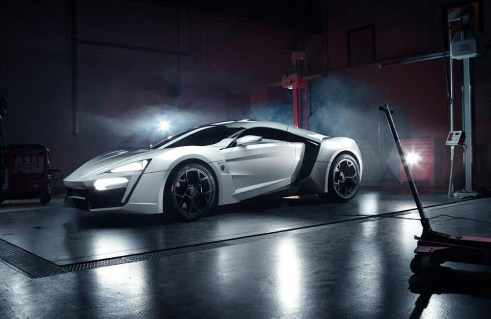 W Motors Lykan HyperSport 2012