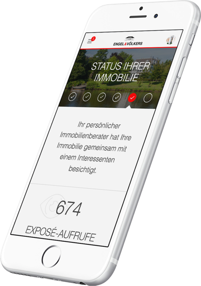 Hauseigentümer - Immobilien App Engel & Völkers