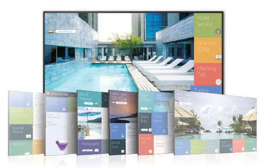 Samsung LYNK REACH integrated software and hardware solution for hospitality