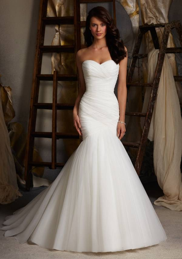 MORI LEE  WEDDING DRESS 5108