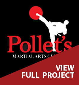 Pollets Martial Arts Center Fit Out View