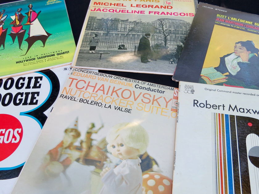 Music Lover on a Budget:  100 - LPs, TAS, Mercury, RCA, Phase 4, Classical, Jazz,  Killer Price!