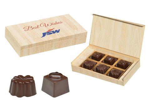 Unique Corporate Gifts - 6 Chocolate Box - Assorted Candies (10 Boxes)