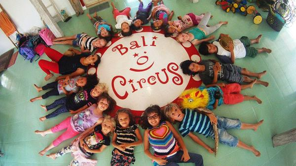 Children at Bali Circus