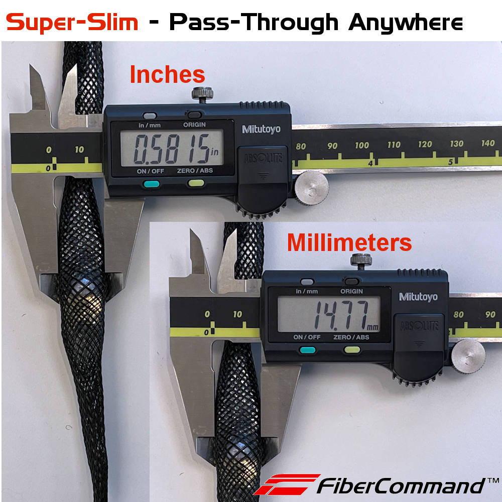 calibro per misura in millimetri o inches