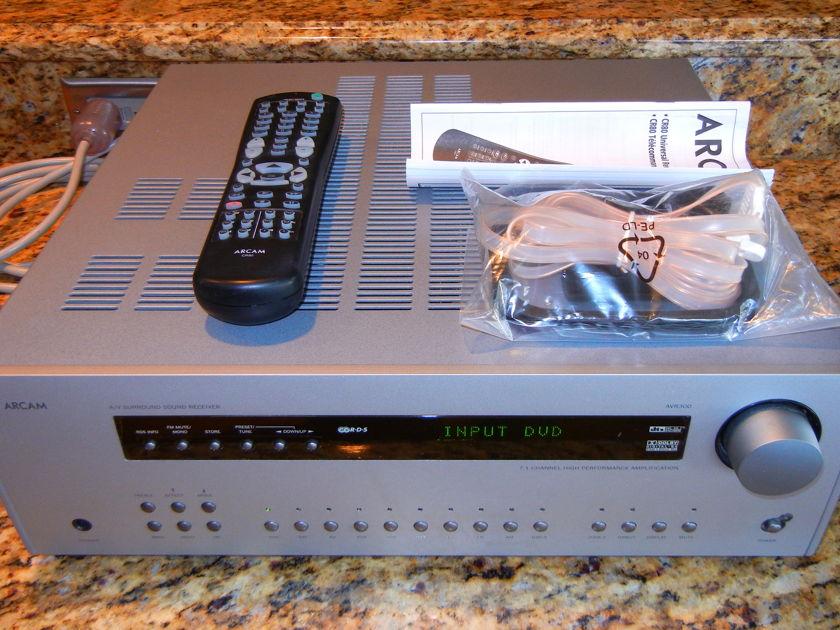 Arcam Diva AVR-300 Surround Sound Receiver (Silver)