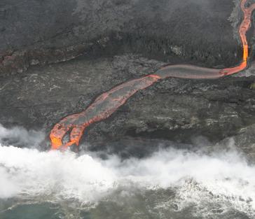 Гавайи — остров вулканов