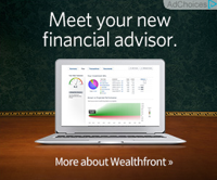 An example of a Wealthfront advertisement.