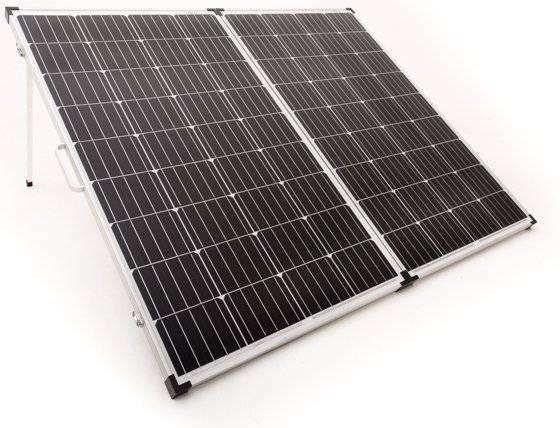 180 Watt folding solar panel
