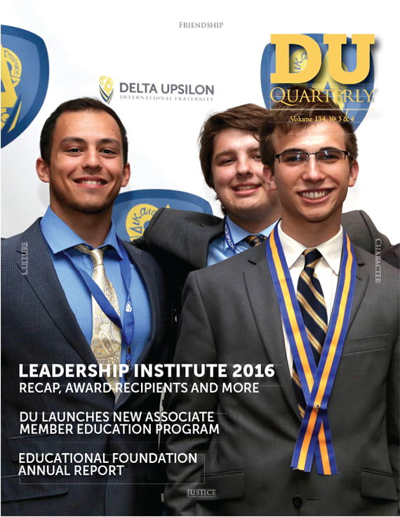 Cover for DU Quarterly Volume 134, No. 3