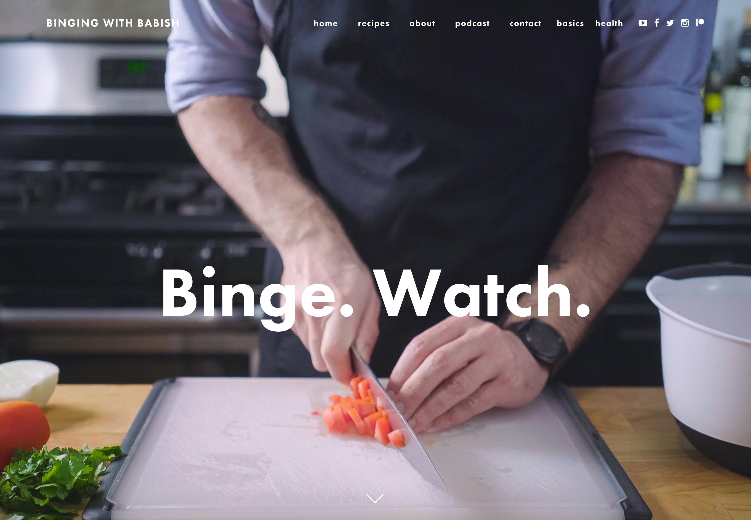 44 Examples of Inspiring Food Websites