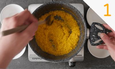 Step 1 Ricetta arancini al burro