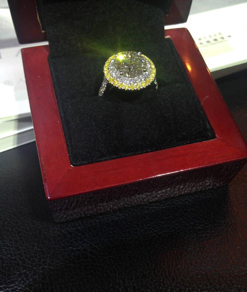 Natali`s engagement ring