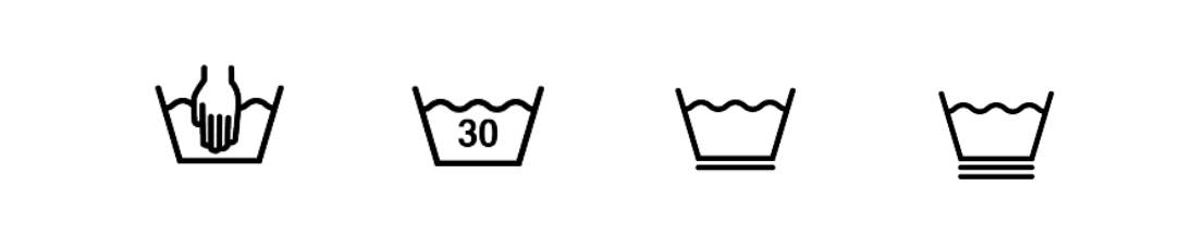 Pflegesymbol Wäschesymbole Hinweis Snocks