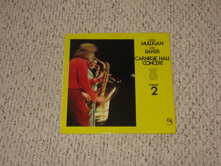 Gerry Mulligan/Chet Baker - Carnegie Hall Concert Vol. 2 PRICE BREAK