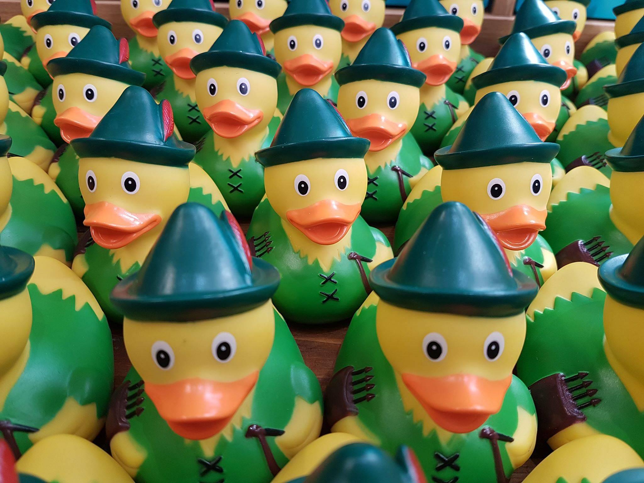 Robin Hodd Rubber Duck